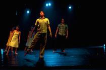 Hoy Cambiará La Vida, coreografía de Lucho Mueckay. Foto: Héctor Maridueña.