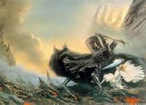 Le combat d'Eowyn