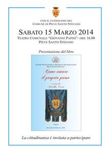 Locandina evento 15 marzo 2014.