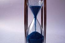 Die Zeit läuft.