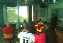 Deutschland : Portugal 4:0. Public Viewing beim SV Horneburg
