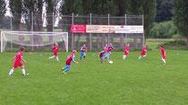 In der 2. Halbzeit zu weit weg von den Gegenspielern. Foto: Dirk Hantrop
