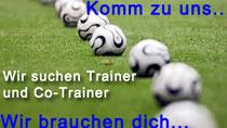 SVH sucht Trainer und Co-Trainer