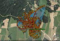 Mini ION Google Earth Log