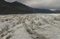 Randonnée sur glacier en Islande