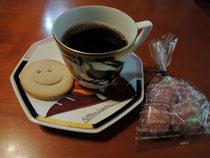 クッキーと玄米コーヒー