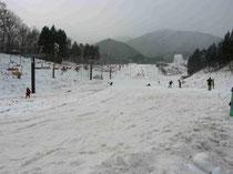 2010年末、いぶきの里スキー場