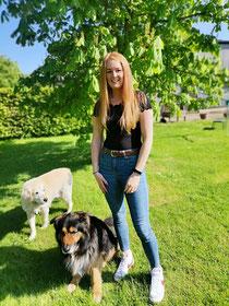 Julia mit Dundee & Barley