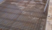 Bodenplatte Schwimmbad