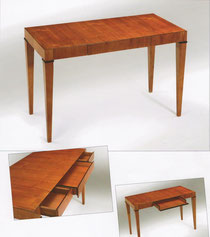 schreibtisch kirschbaum italien neu biedermeier. Black Bedroom Furniture Sets. Home Design Ideas