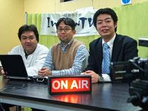 レギュラー:岩見信吾、近藤和也、阿部充浩(右から)