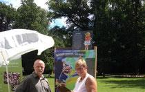 Mobiler Stand auf dem Umweltbildungsfest