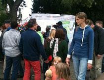 Mit dem Info-Stand auf dem Bremer Umweltbildungsfest im Sept. 2013