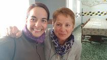 Lucy in der Herberge in Astorga