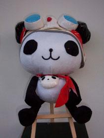 Panda Z plush