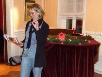 Chorleiterin Sigrid Hartmann ...