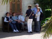 Pause im Kloster Eberbach