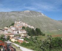 Castelluccio und Mte. Vettore