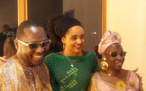 Amadou & Mariam, Mayembé Malayika. Photo by MAOONI