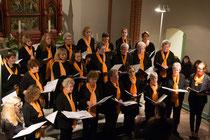 Ein gelungener Auftritt – der Frauenchor Nordheide aus Marxen; Fotograf: Til Hannig