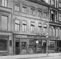 Godet-Standort Schlossfreiheit No. 4, Berlin (1761-1893) / © Gemeinfrei nach § 64 UrhG / Digitalisierung: 2013 Sammlung PRISARD