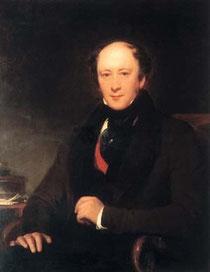 James Robinson Planché (1796-1880) (Gemälde: Henry Perronet Briggs, um 1835) / © Quelle: Wikipedia (gemeinfrei)