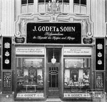 Godet-Standort Friedrichstraße 167/168, Berlin (ab 1893) / © Gemeinfrei nach § 64 UrhG / Digitalisierung: 2013 Sammlung PRISARD