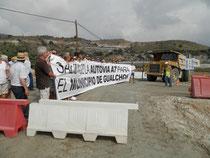 Momento de la manifestación