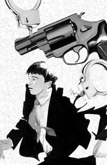 マル暴甘糟(今野敏著 Jノベル2013年10月号(実業之日本社))の挿絵