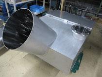 化学工場 ステンレスホッパー製作 大阪