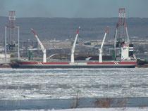 Azoresborg dans le Port de Québec