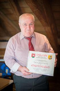 Hans Paulmichl wird Ehrenmitglied