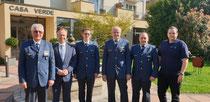 Die Delegierten der THW-Landesvereinigung Rheinland-Pfalz mit Landesjugendleiter Volker Stoffel