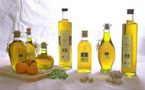 Aceiteras con aceite virgen extra D.O. Sierra de Segura