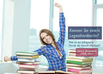 Symbolbild: Frau mit Büchern