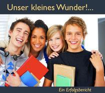 Symbolbild: fröhliche Schüler