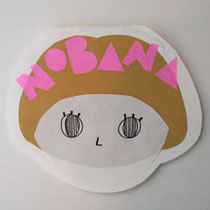 NOBANA birthaday card