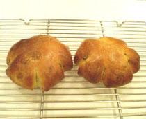 くるみを入れたお食事パン