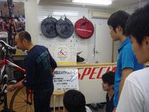 小井手メカニックによるメカニック講習