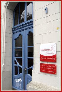 Eingangsbereich, Tür