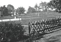 Die Tennisanlage am Kaisergehölz 1959