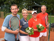 v.l. Olaf Jacob, Anja Diestel, Christine Schick und Gerd Metzker