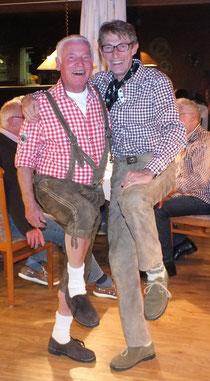 Gerd Schulte und Uwe Dunker