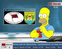 Dresdner SC - LSV Neustadt/Spree