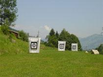 FITA-Schießstand 30, 50, 70 Meter