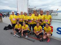 16 Frauen vom TV Reutin nahmen am Frauenlauf teil.