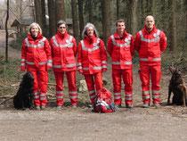 Wir gratulieren zur bestandenen Prüfung Silvia Hölzler, Margret Küchler, Manuela Feustel, Lukas Hölzler, Pasquale Rizzo (von links nach rechts) sowie Madlen Hasel (nicht mit auf dem Bild)