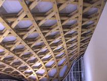 hochinteressante Holzkonstruktion