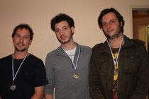 von links nach rechts: Lars, Stefan und Oliver
