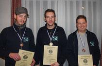 von links nach rechts: Stefan, Mike, Andreas